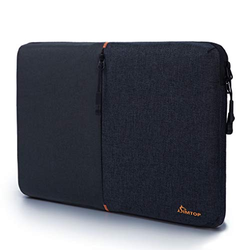 SIMTOP 360° Protection Laptop Sleeve 14 inch Case Bag compatible with 14″ Lenovo ThinkPad Del