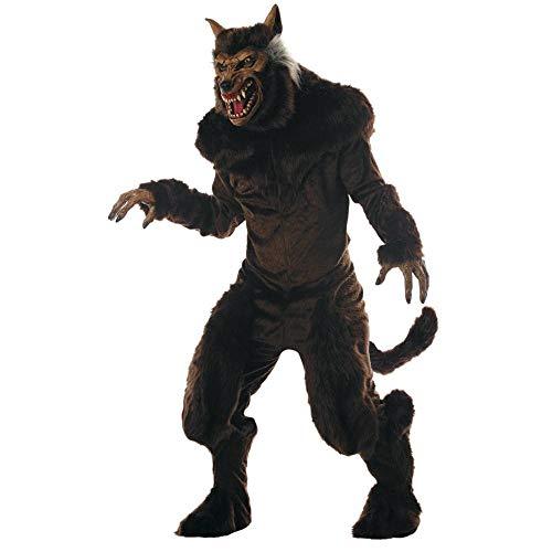 Morris Deluxe Werewolf Costume Standard Brown]()