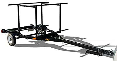 RIGHT-ON TRAILER Multi-Sport Multi-Rack Kayak Trailer by Right On | Durable Transporting Trailer for Kayaks, Sups, Canoes, Bicycles & More
