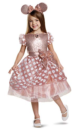 Disney Rose Gold Minnie Deluxe Girls'