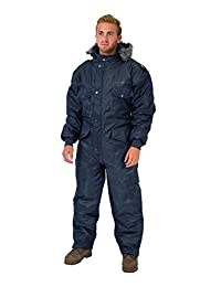 Navy Blue IDF Snowsuit Winter Clothing Snow Ski Suit Coverall Insulated Suit