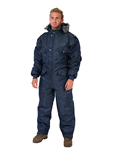 Navy Blue IDF Snowsuit Winter Clothing Snow Ski Suit Coverall Insulated Suit (XXL)
