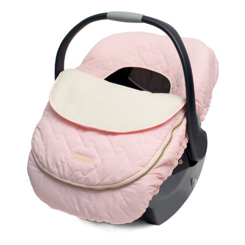 JJ Cole Car Seat Cover, Pink (Fleece Car Seat Stroller Blanket)