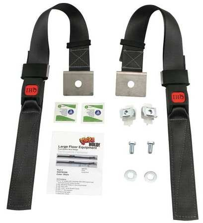 Push Button Strut Strap Black 1200 Lb