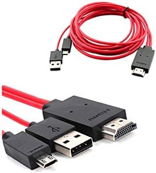 Adaptador de cable micro USB MHL a televisión HDMI Mycs para Samsung Galaxy S3, S4, S5, Note 2 y 3.: Amazon.es: Electrónica