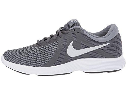 NIKE Women's Revolution 4 Running Shoe Dark Grey/Pure Platinum/Cool Grey/White Size 7.5 M US