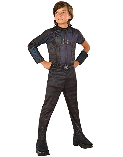 Boys Civil War Costume (Rubie's Costume Captain America: Civil War Hawkeye Value Child Costume,)
