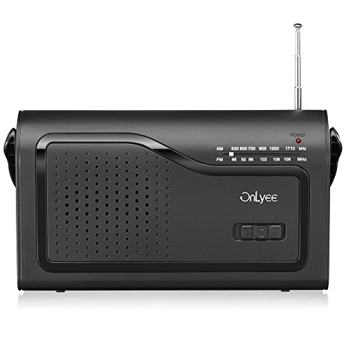 OnLyee AM/FM Portable Radio