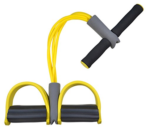 HestioFitness Workout Elastic Sit Up Pull Rope Abdominal Exerciser Equipment Sport