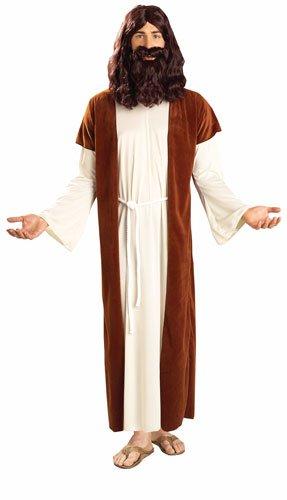 Forum Novelties Men's Biblical Times Jesus Costume, Multi, One Size (Robe Jesus)