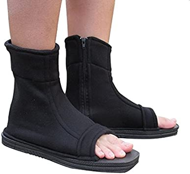 38//39 CosInStyle Shoes for Ninja Kakashi Sasuke Sakura Black Color
