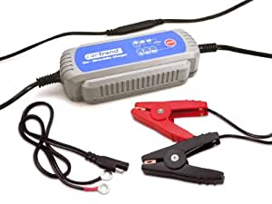 """Cartrend 50132 Cargador microprocesador de baterías MP 3800"""" para baterías de 12V, CE, IP65"""