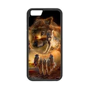 "C-Y-F-CASE DIY Wolf Dream Catcher Pattern Phone Case For iPhone 6 Plus (5.5"")"