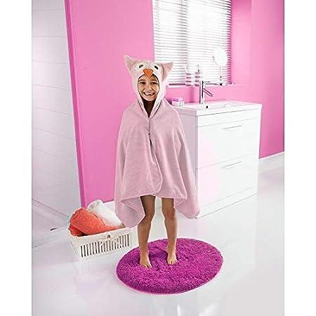 Cute Animal Cartoon Kids Hooded Bath//Beach Towels Various Colour Christmas Gift-OWL