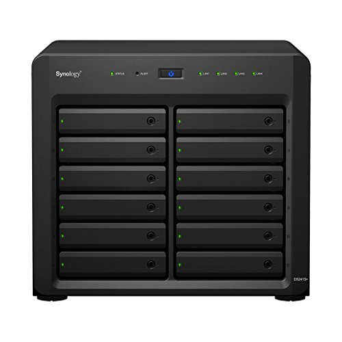 Synology Disk Station 12-Bay Network Attached Storage (DS2415+) by Synology