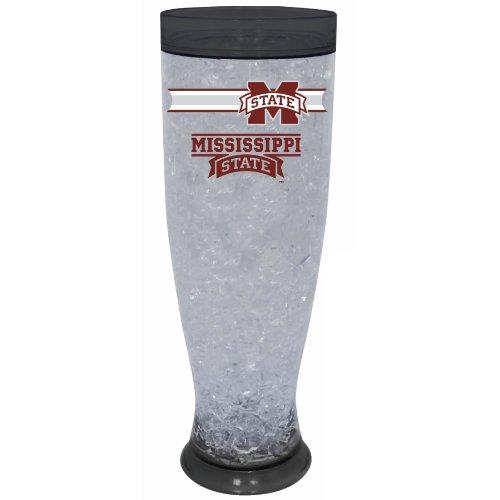NCAA Mississippi State University Bulldogs Ice Pilsner - State Bulldogs Glass Ncaa Mississippi
