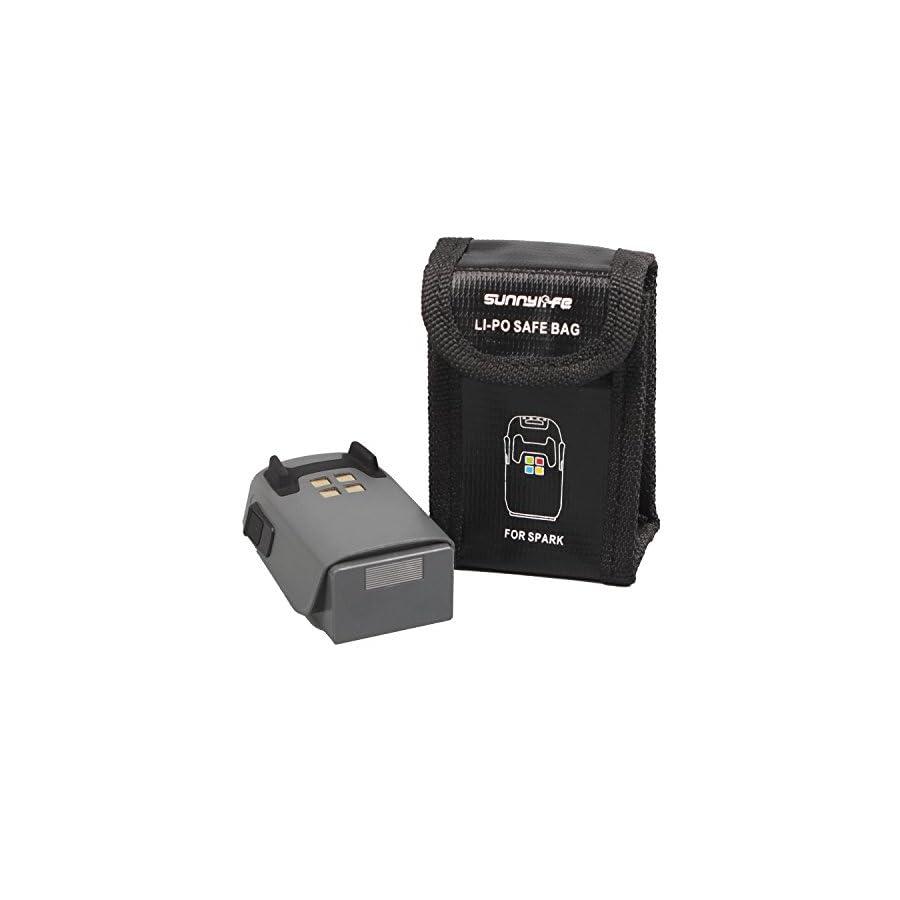 Drone Fans Lipo Safe Bag Case Battery Safety Guard Storage Bag for DJI Spark Drone