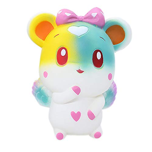 OrchidAmor New Squishies Adorable Cartoon Bunny Slow Rising Fruit Scented Stress Relief Toys