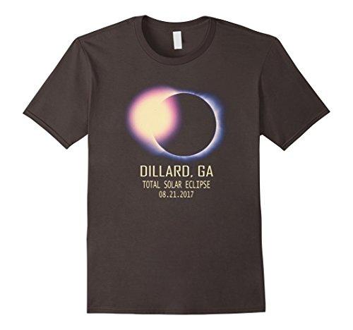 Mens Total Solar Eclipse Dillard Ga August 21 2017 T Shirt Medium Asphalt