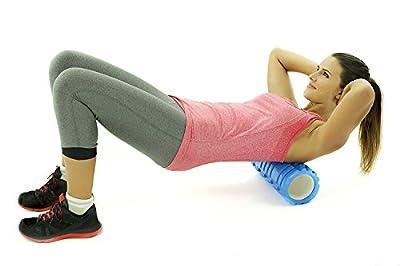 LTDD Yoga Pilates EVA Foam Roller for Deep Tissue Muscle Massage Muscle Roller for Fitness, CrossFit,Yoga Pilates
