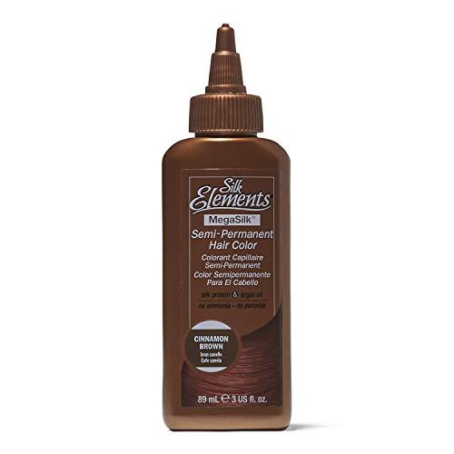 Silk Elements Cinnamon Brown Semi Permanent Hair Color Cinnamon ()
