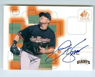 Upper Deck Certified Autograph Card - J.T. Snow autographed baseball card (San Francisco Giants) 1999 Upper Deck #JT Certified