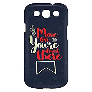 Loud Universe Samsung Galaxy S3 Move On You're Almost There Print 3D Wrap Around Case - Multi Color