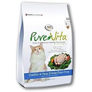 Pure Vita Grain Free Chicken And Peas Cat Food, 6.6-Pound 60