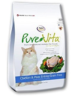 Pure Vita Grain Free Chicken And Peas Cat Food, 6.6-Pound Review