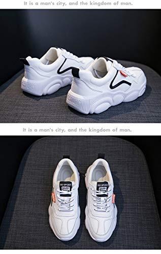 Mujer De Zhijinli Tamaño 7size 5 Blancos 5 Salvaje Deporte Cachorros Zapatos Color Zapatillas 4qwpOwUZRT