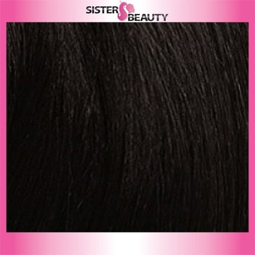 OUTRE Synthetic Hair Half Wig Quick Weave Bella Color 1B]()