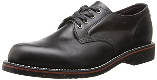 Original Chippewa Collection Men's 1901M73 4 Inch Service Oxford, Black Whirlwind, 11.5 D US