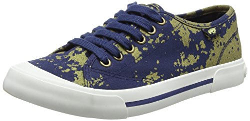 Jumpin gold Rocket Sneaker Donna dark Dog Multicolour Blue 5SSFq