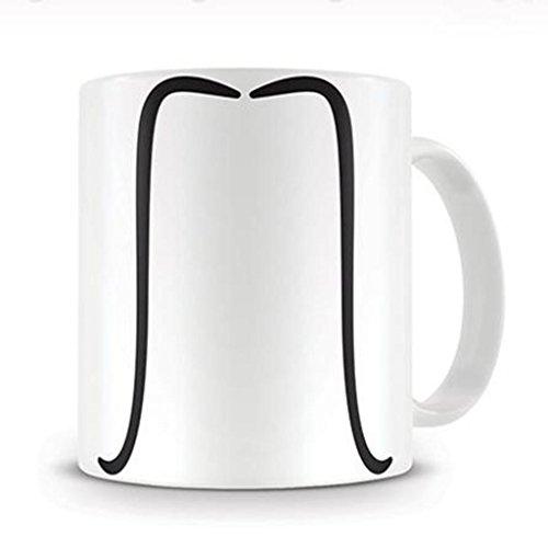 [Mustache The Fu Manchu Coffee Mug] (Fu Manchu Costumes)