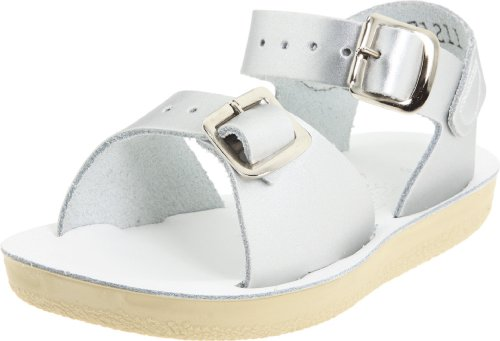 Salt-Water Style 1700 SUN-SAN Surfer Sandal (1M US Little Kid Silver)