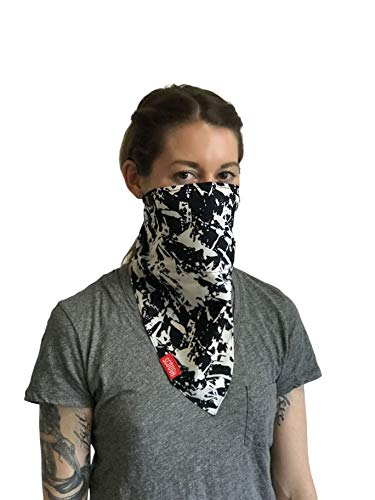 (Scough Pollution Protection Bandana with Carbon Filter - Space Bandana)