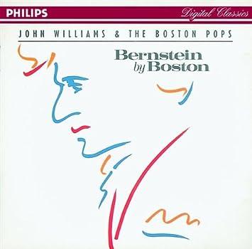 Leonard Bernstein, John Williams, Boston Pops - Bernstein By Boston -  Amazon.com Music