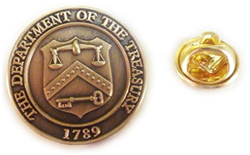 - Department of the Treasury IRS Seal Lapel Pin