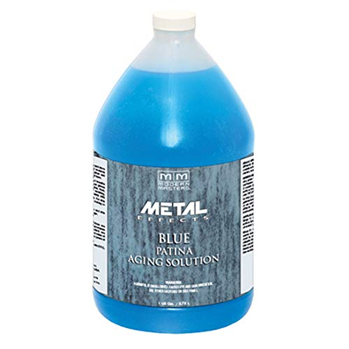 Aging Solution - MODERN MASTERS PA902 1 Gallon Blue Patina Aging Solution