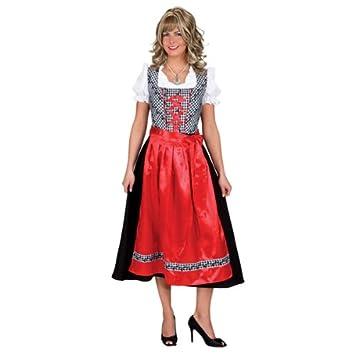 ORLOB Disfraz de Tirolesa Tessa Vestido con Delantal: Amazon.es ...
