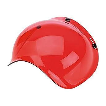Visera Burbujas Bubble Biltwell Roja Rose Solid x Cascos Casco Moto Biltwell Bell DMD Bandit Yam