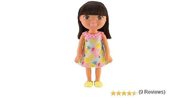 Dora la Exploradora - Muñeca Aventura, Color Amarillo (Mattel ...