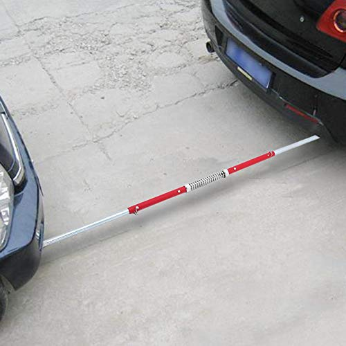 fghfhfgjdfj Ergonomic Design 2 TON Tonne Recovery Tow Bar Towing Pole Spring Loaded Damper Traction Trailer Auto Cars Rod