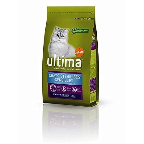 Ultima gatos stérilisés sensible 1. 5 kg - (precio unitario) - envío rápido y entrecruzado: Amazon.es: Productos para mascotas