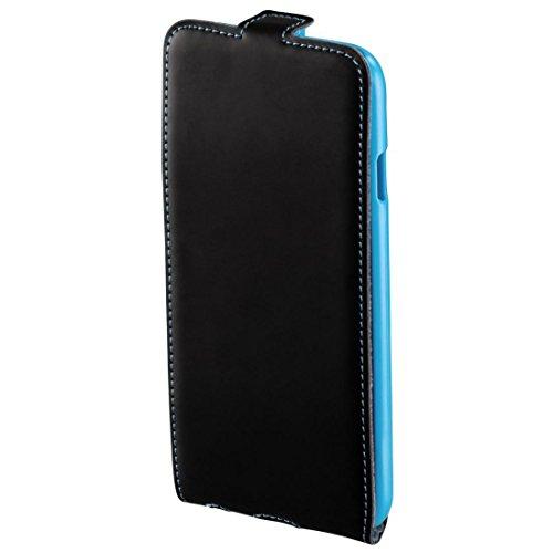 Hama Guard Case Etui à rabat pour iPhone 6 Noir/Bleu