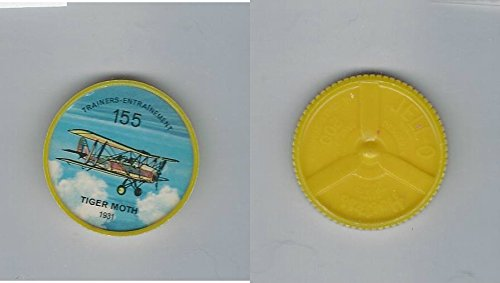 (1960's Jell-o Hostess, Airplane Coin, 155 Tiger Moth)
