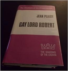 lord robert plaidy jean