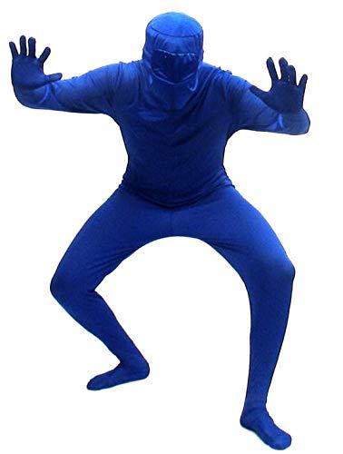 Blueman Costumes - Blueman Bodysuit - Adult X-Large (XL)