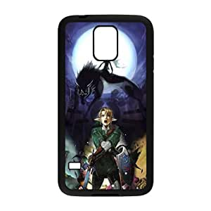 Magical wolf and man Cell Phone Case for Samsung Galaxy S5