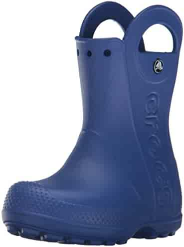 Crocs Kids' Handle It Rain Boot  | Easy On for Toddlers, Boys, Girls | Lightweight and Waterproof